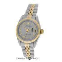 Rolex Ladies Oyster Perpetual 69173 DateJust Jubilee Gold Steel