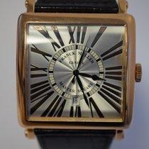 Franck Muller Master Square 6000 'RELIEF' Rose Gold...