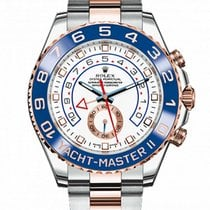 Rolex Yacht-Master II 44mm Steel and Everose Gold 116681 White