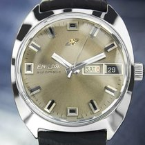 Enicar Day Date Automatic 1970s Watch Jxb6637