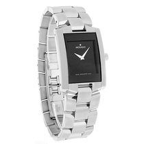 Movado Eliro Mens Stainless Steel Swiss Quartz Watch 0604132