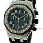 Audemars Piguet Royal Oak Offshore Ladies Chronograph, Black...