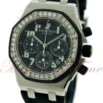 Audemars Piguet Royal Oak Offshore Ladies Chronograph, Black...