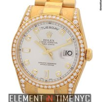 Rolex Day-Date 36mm President 18k Yellow Gold Diamond Bezel,...