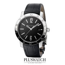 Bulgari Solotempo Black Dial  41MM T 101867 RO