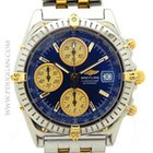 Breitling stainless steel and 18k yellow gold Chronomat