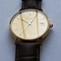 Eterna Very Flat Dress Watch 14K/585 Gold 33.5mm (Ref 4100.65)