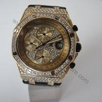 Audemars Piguet Offshore Yellow Gold Full Diamond