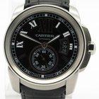 Cartier Calibre W7100041 Automatic Mens Watch Black Dial Mens...