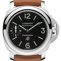 Panerai [NEW] PAM01005 Luminor Marina Logo Acciaio (Retail:HK$...
