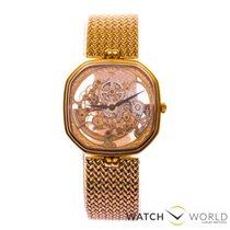 Gübelin skeleton gold watch