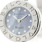 Bulgari Polished  B-zero1 Diamond Mop Dial Quartz Ladies Watch...