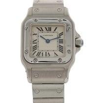 Cartier Ladies Cartier Santos Stainless Steel Watch 1565