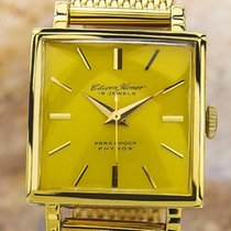 Citizen Homer Mens Rare Yellow Dial Gold Plated Japanese...