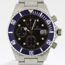 Grovana Automatic Diver Chronograph BLUE NEW 2 Years Warranty...