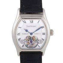 Girard Perregaux Mens Automatic White Gold Tourbillon Watch 9930