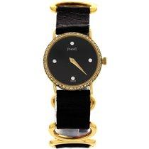 Piaget Ladies Vintage Piaget 18K Yellow Gold Diamond Watch 8057