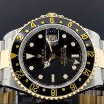 Rolex GMT Master II Ref. 16713 T 40mm 18k Yellow Gold/ Steel...