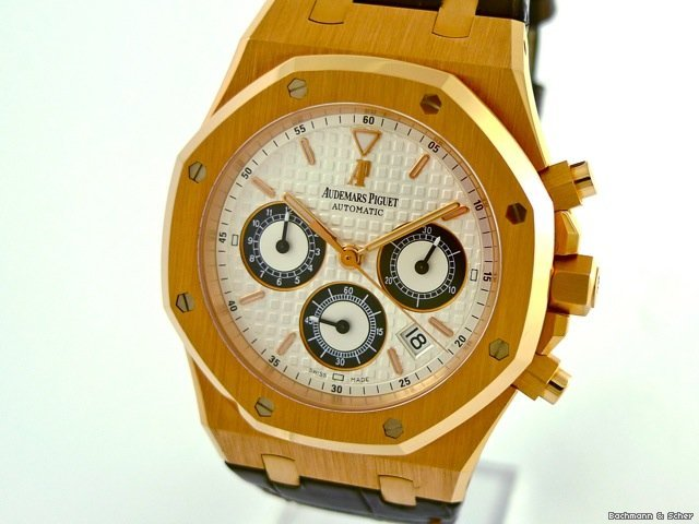 Audemars Piguet Royal Oak Chronograph, 18k Rose Gold