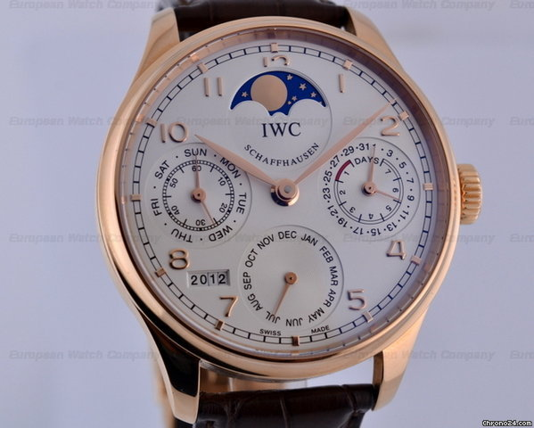 IWC Portugieser Perpetual II Red Gold 44.2MM
