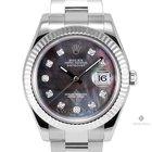 Rolex Datejust II Stainless Steel Tahitian Mother of Pearl...