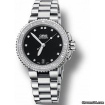 Oris Aquis Date Diamonds NEU B+P