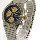 Breitling Windrider Chronomat Stahl / Gold Chronometer Fliegeruhr