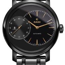 Rado Diamaster Grande Seconde Automatic Black High-tech...