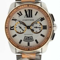 Cartier W7100042 Calibre De Cartier Chronographe Rose Gold