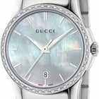 Gucci G-Timeless Small Quartz Mother Of Pearl Dial With...