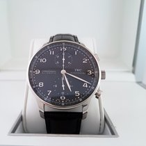 IWC Portuguese Chronograph. Mint Box & Papers.  IW371438