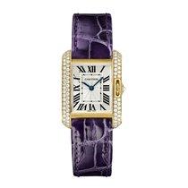 Cartier Tank Anglaise Quartz Ladies Watch Ref WT100014
