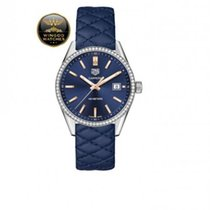 TAG Heuer - Carrera Lady Quarzo 39mm Ghiera Diamanti