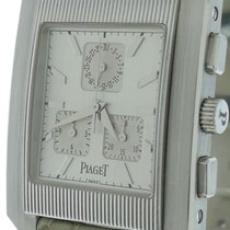 Piaget New Mens Piaget Protocole Chronograph Xl 18k White Gold...