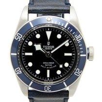 Tudor Black Bay Blu Bezel Leather Strap - 79220b