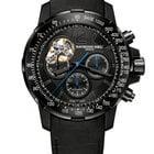 Raymond Weil Steel and titanium Open balance wheel 7830-BK-05207