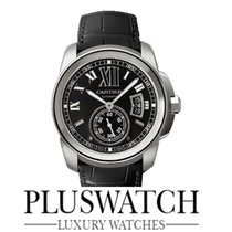 Cartier CALIBRE DE CARTIER AUTOMATIC BLACK DIAL W7100014 T