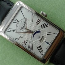 Piaget Rectangle à l'Ancienne Retrograde White Gold