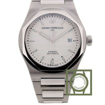 Girard Perregaux Laureato limited 225 silver dial NEW 2016