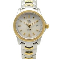 TAG Heuer Link Model Quartz Watch White Dial WJF1352 2006