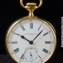 Patek Philippe Pocket Watch 18k Chronometro Gondolo