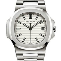 Patek Philippe 5711/1A  Nautilus Stainless Steel white Dial New