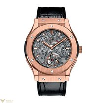 Hublot Classic Fusion Tourbillon Cathedral Minute Rapeater 18K...