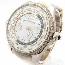 Girard Perregaux World Time Diamond Bezel Diamond Dial 49860...