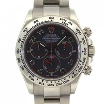 Rolex Daytona White Gold never polish 116509
