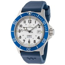 Glycine Combat Sub White Dial Automatic Men's Watch