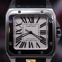 Cartier Santos 100 Xl Ss Men's Automatic (near Mint)