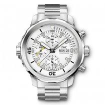 IWC Aquatimer Chronograph DIVER'S Automatic Silver Dial...