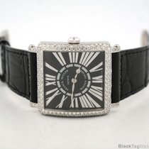 Franck Muller Master Square Ladies 18k White Gold with Diamond...