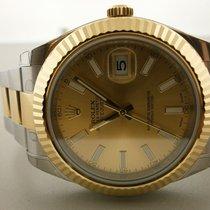 Rolex Datejust II 41mm 116333 18k/ss Champagne Dial. Unworn...